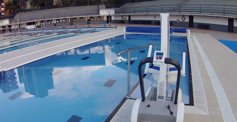 Instalaciones del Club Natación Echeyde - 25 años de Historia