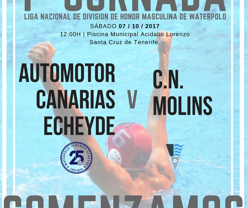 1ª JORNADA Club Natación Echeyde - 25 años de Historia