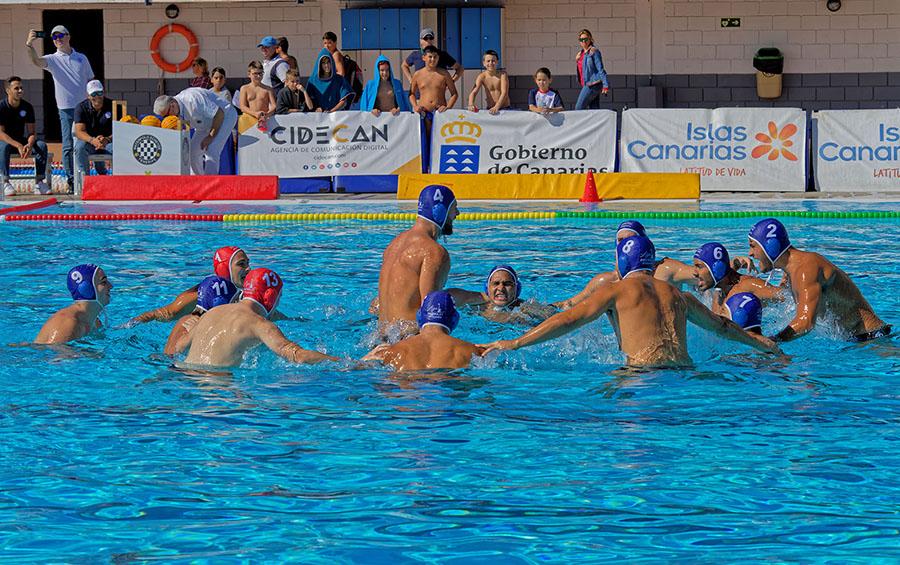 El Waterpolo Tenerife Echeyde salió mal parado de su visita al CN Sabadell