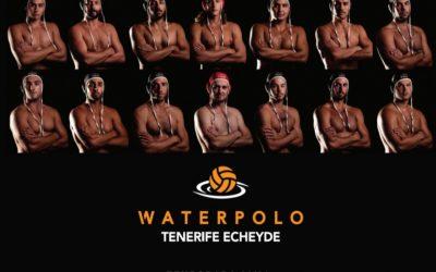 El Tenerife Echeyde comienza este sábado su cuarta temporada en la élite del waterpolo