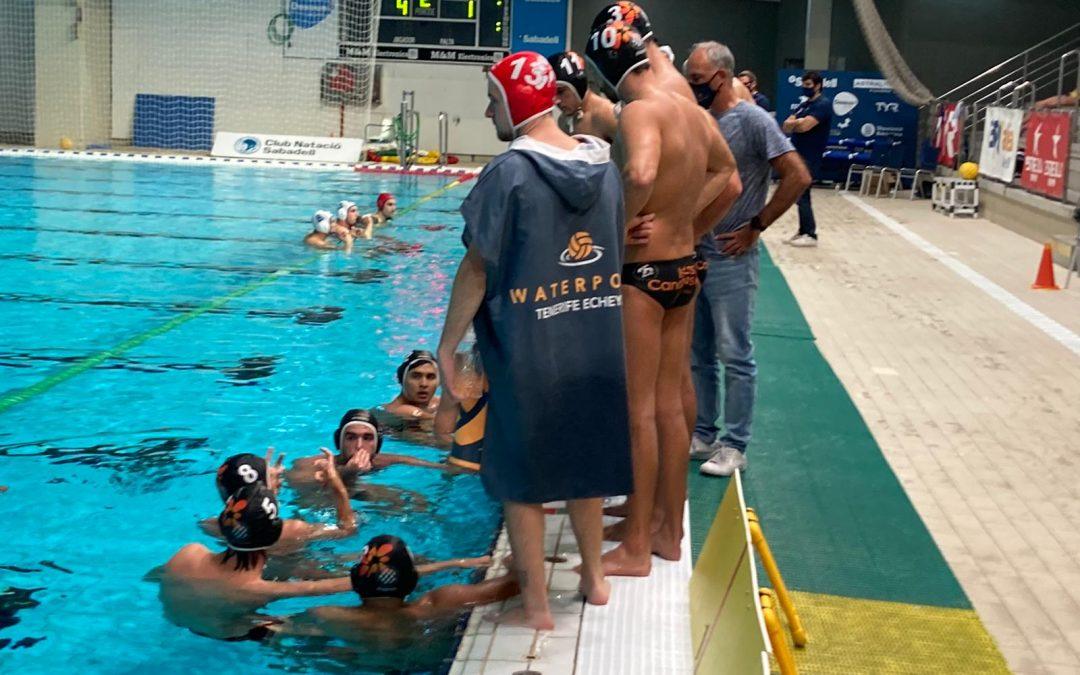 El Waterpolo Tenerife Echeyde paga caro sus errores y cae derrotado ante el CN Sabadell