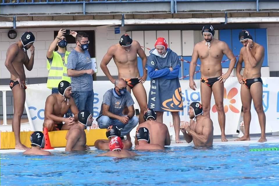 El Waterpolo Tenerife Echeyde se queda a las puertas del empate ante el Mataró tras una gran remontada