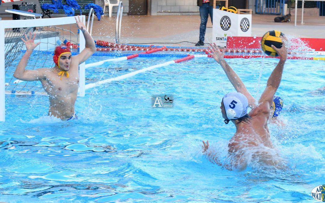 El Tenerife Echeyde pelea de tú a tú ante el CN Catalunya pero pierde en los últimos cuartos
