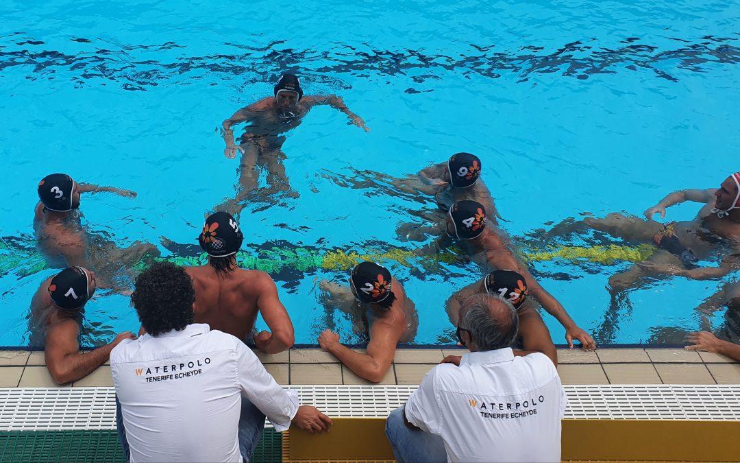 El Waterpolo Tenerife Echeyde obra el milagro en un final épico y empata ante el líder