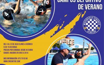 El Waterpolo Tenerife Echeyde-Timbeque inicia su campus deportivo de verano