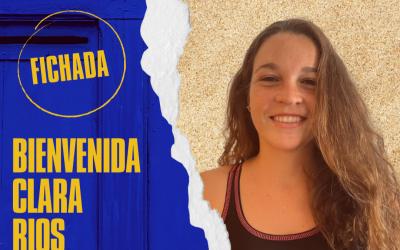 El Waterpolo Tenerife Echeyde Femenino ficha gol con la jugadora Clara Ríos