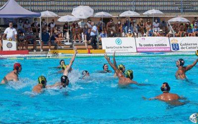 El Waterpolo Tenerife Echeyde logra su segunda victoria consecutiva a costa del Navarra